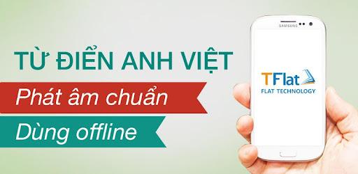 Tflat - Từ Điển Anh - Việt Offline Full Unlocked Mod APK