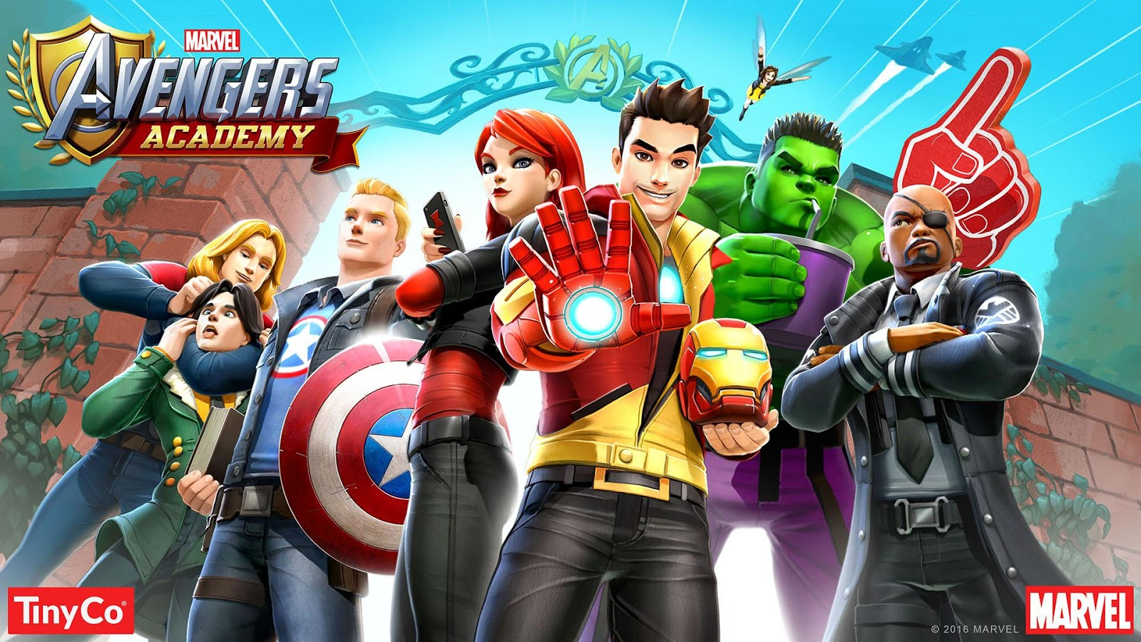 Download MARVEL Avengers Academy v1.4.0 Update Terbaru 2016