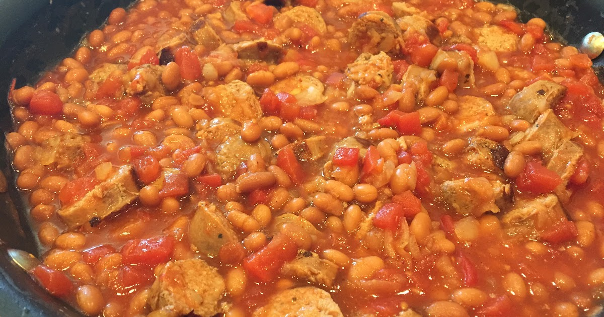 Savory Sausage and Bean Skillet   Cindy's Recipes