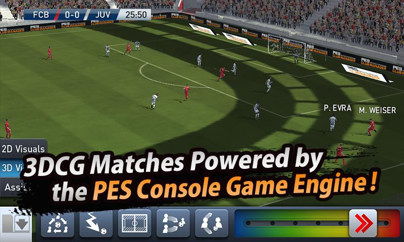 Download PES CLUB MANAGER Apk Data