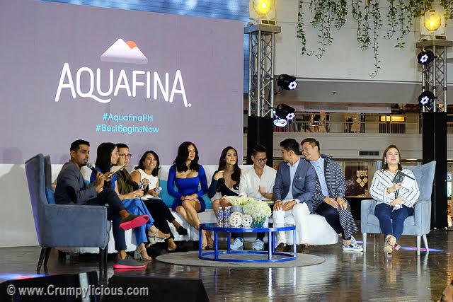 aquafina best begins now