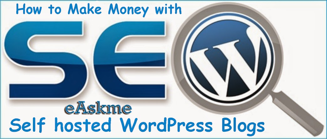 How to Make Money WordPress Blogs Self hosted : eAskme