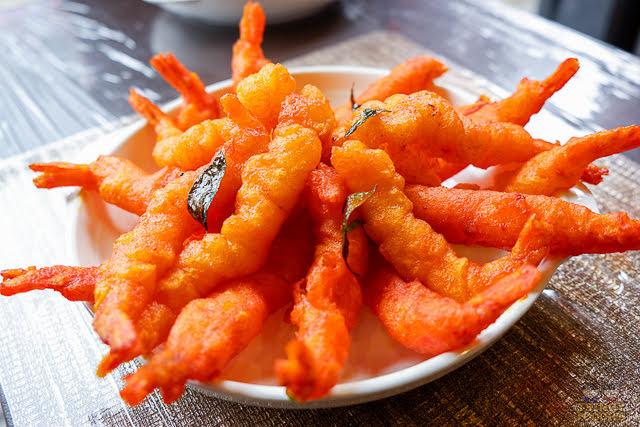 salted egg tempura