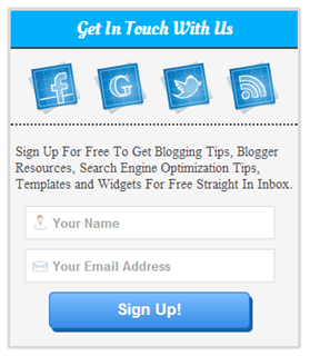 How To Add BluePrint Subscription Widget In Blogger : eAskme