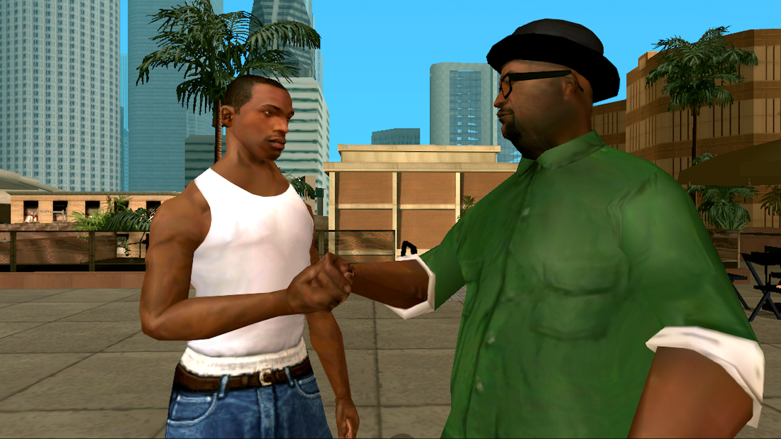 GTA San Andreas v1.0.3 [Mod Cheats] APK Arcade & Action Games Free Download