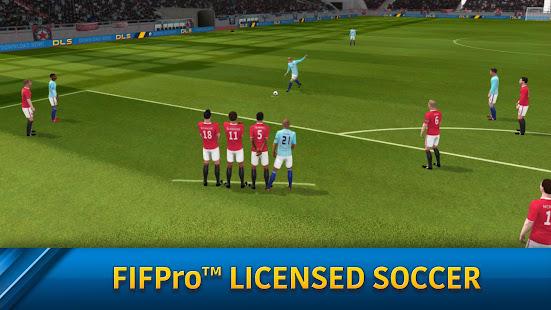 Dream League Soccer 2019 MOD Apk plus OBB Data V6.12 Unlimited Money