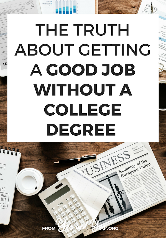 How to Get A Job Without A College Degree