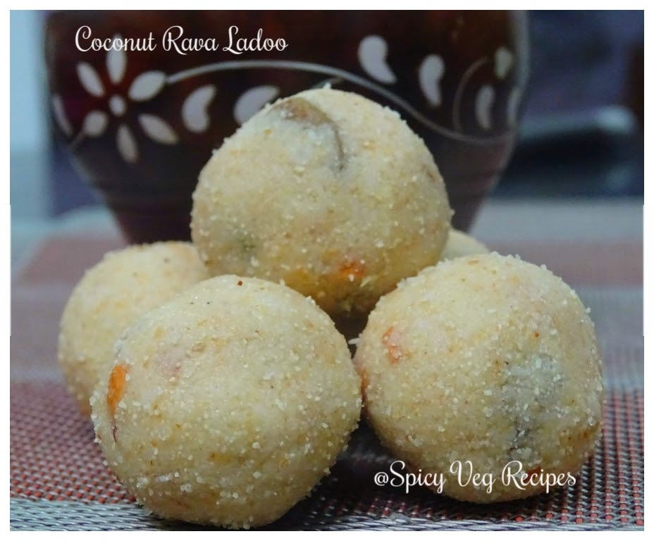 Rav Ladoo is a traditional Maharashtrian sweet delight. coconut semolina Ladoo is the awesome aromatic blend of grated coconut and roasted semolina.