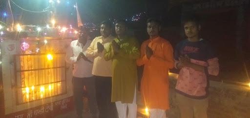 हर्षोंउल्लास के साथ मनाया गया अजान गांव में दीपावली का त्यौहार