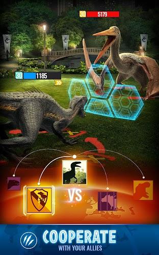 Jurassic World Alive Screenshot 04