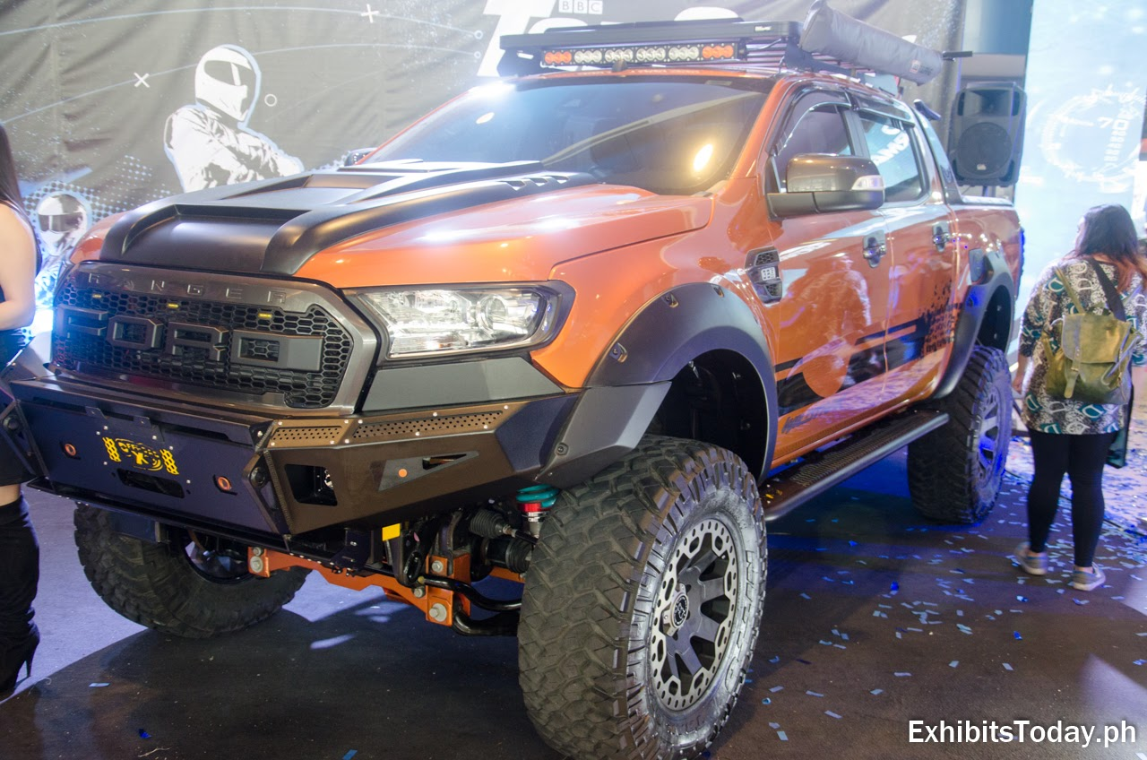Ford Ranger at Top Gear Philippines Booth
