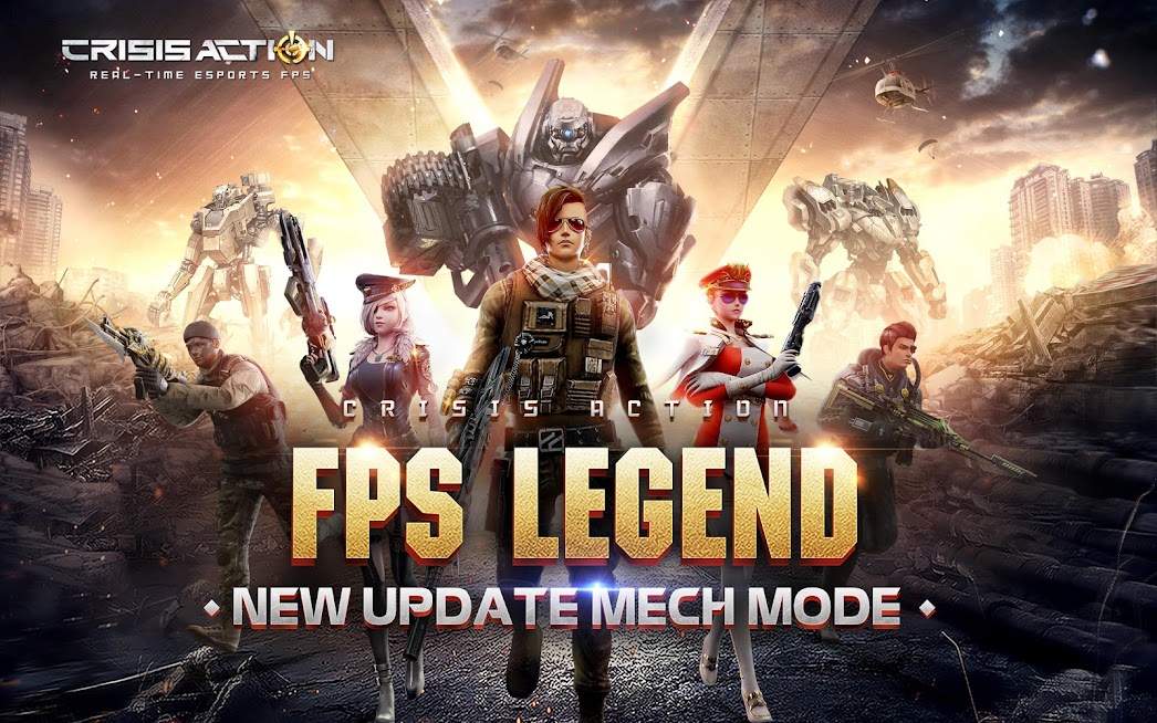 Download Game Crisis Action:Rise of Mech Mod Apk