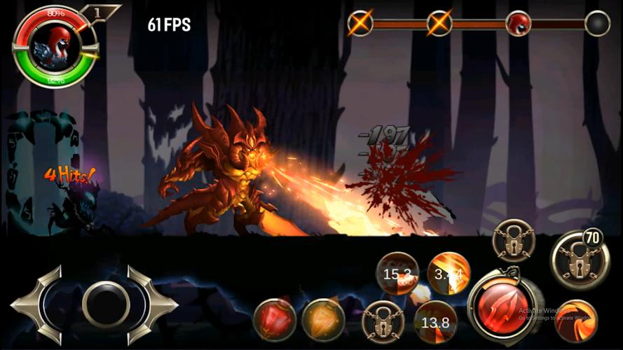 Stickman Ninja warriors Screenshot 01