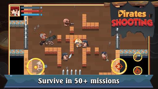 Pirate Shooter Mod Full Tiền Vàng Kim Cương