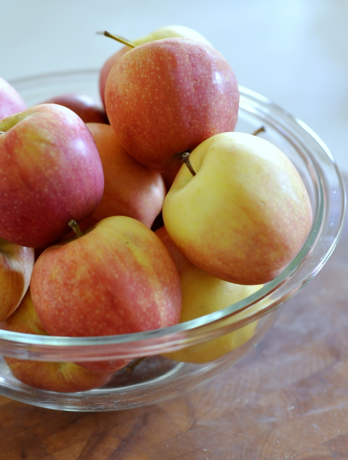Bowl of Organic Gala Apples | Taste As You Go