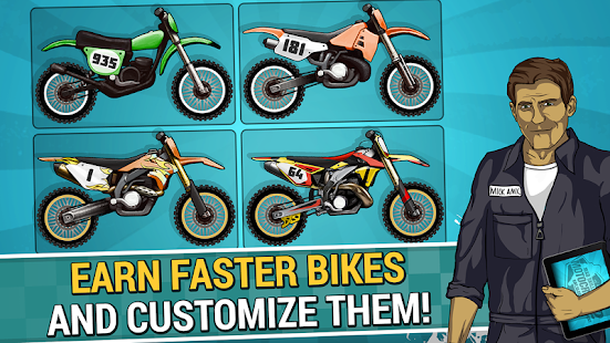 Mad Skills Motocross 2 MOD Unlimited Rockets, Unlocked Apk For Android