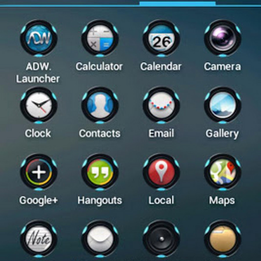 FUTUROUNDS INCON PACK PARA LAUNCHER EN ANDROID FULL GRATIS