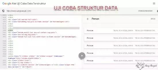 Pengoptimalan Data Terstruktur