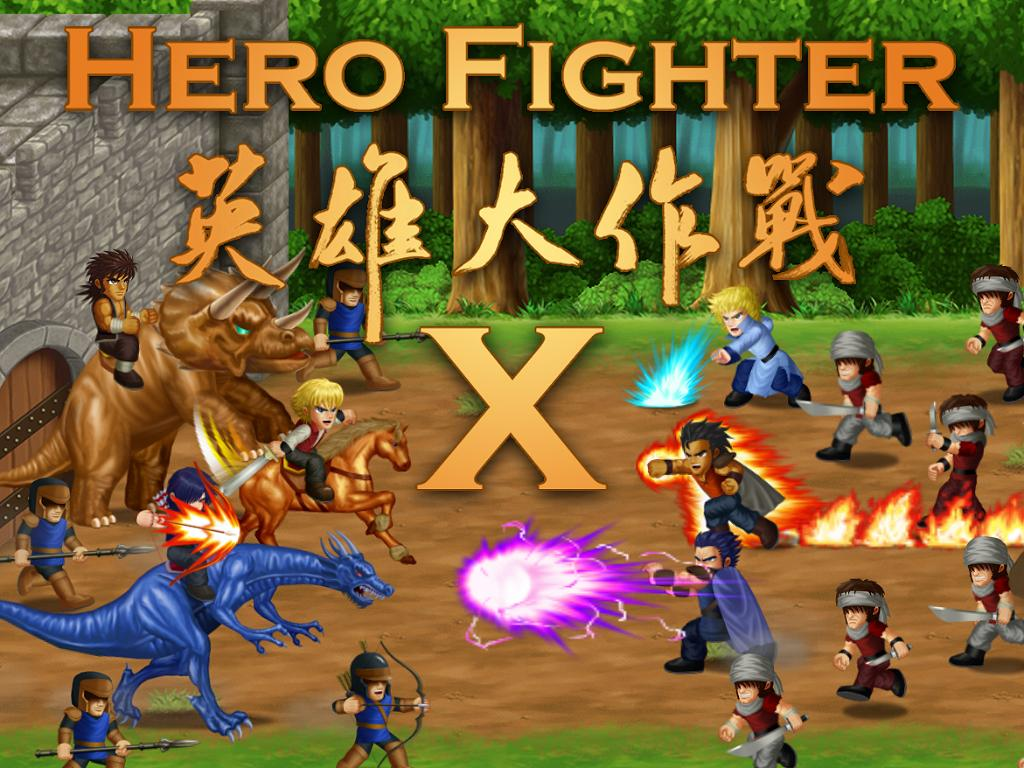 Hero Fighter X v1.04 APK [FULL VERSIÓN]