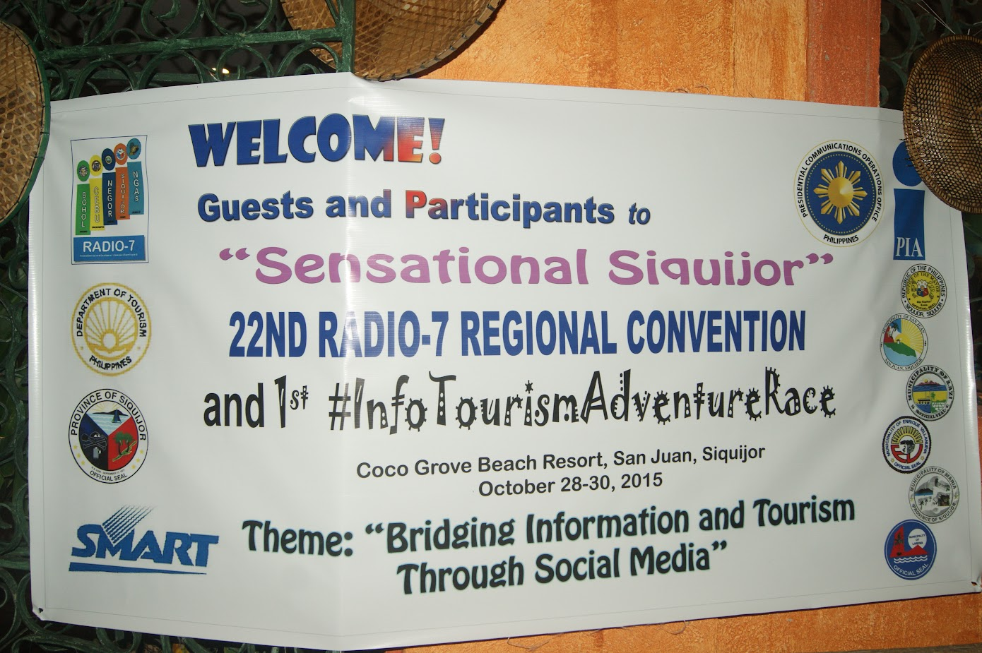 Adventure race team building in Siquijor Philippines
