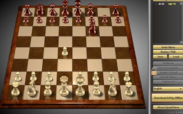Jeux d'échecs,أفضل الألعاب التي يمكن لعبها عبر متصفح كروم بدون انترنت,