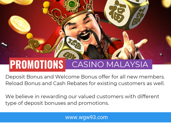 Promotions Casino Malaysia