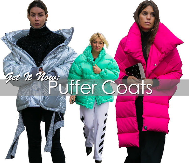 Get It Now: Puffer Coats