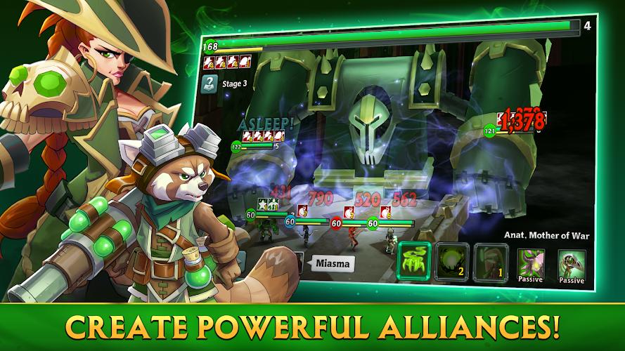 Alliance: Heroes of the Spire Screenshot 01
