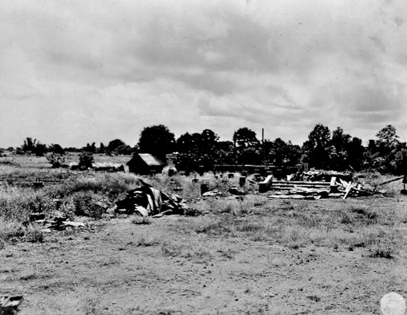 Original caption:  Ruins of the Minor Seminary2, on the Rosario Road, near Lipa, Batangas Philippine Islands. Photo taken by Pfc. Robert Wilson of the 168th Photo Signal Batallion on 25 September 1945.
