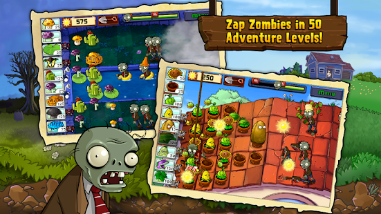 Plants vs Zombies FREE MOD Apk Unlimites Coins Suns For Android