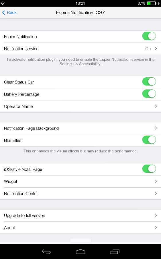 Espier Notification 7 Pro v1.2.8 APK Tools Apps Free Download
