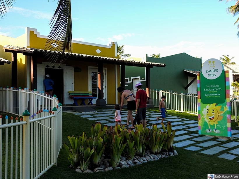 Sauípe Kids - resort all inclusive na Bahia