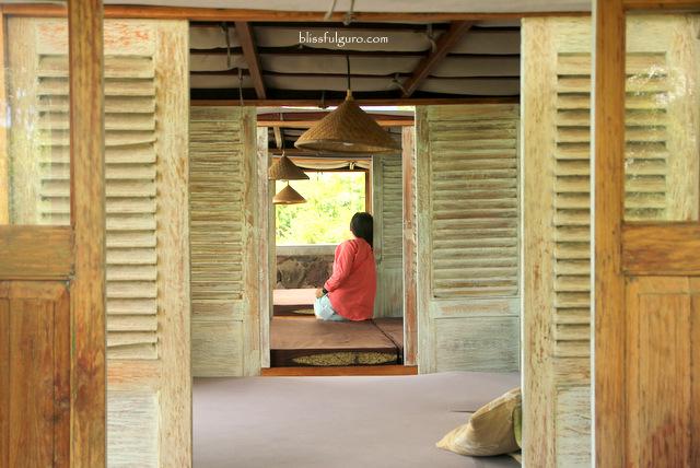 Cafe Burangrang Dusun Bambu Park Bandung