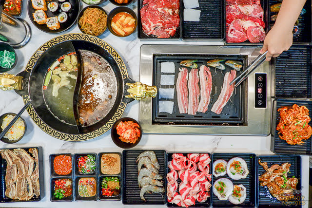 four in love bbq hot pot buffet