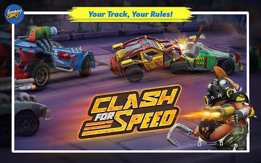 Clash for Speed Xtreme Combat Racing Hack Full Tiền Vàng Cho Android