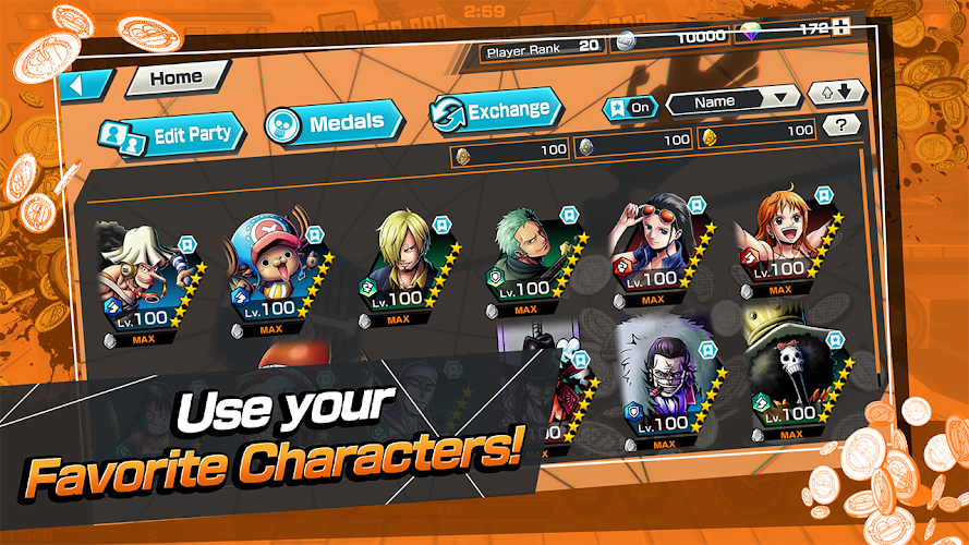 ONE PIECE Bounty Rush Screenshot 02