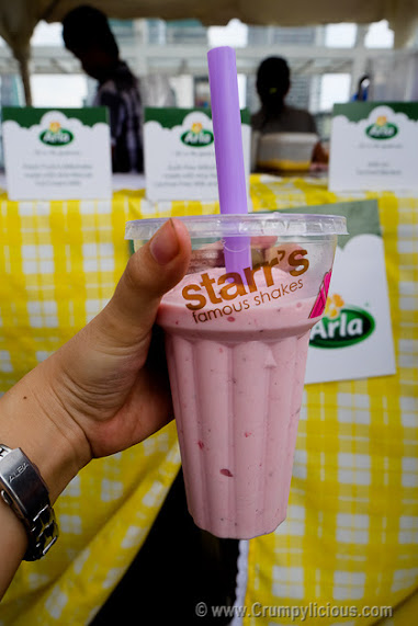 starrs famous milkshake
