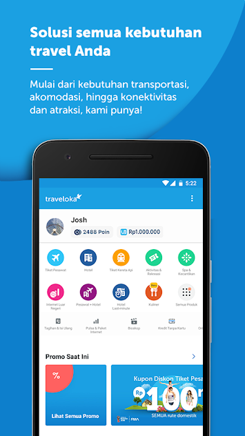 Download Aplikasi traveloka