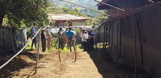 personas en una huerta EcoGuardianesCR