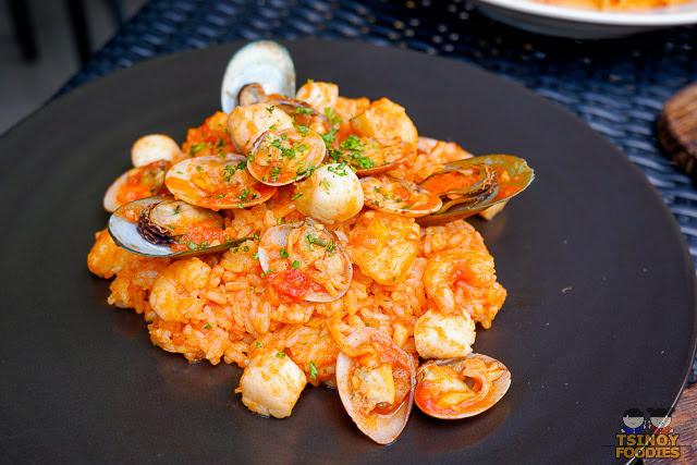italian seafood rice