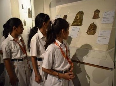 Students of The Wisdom Tree School in National Museum