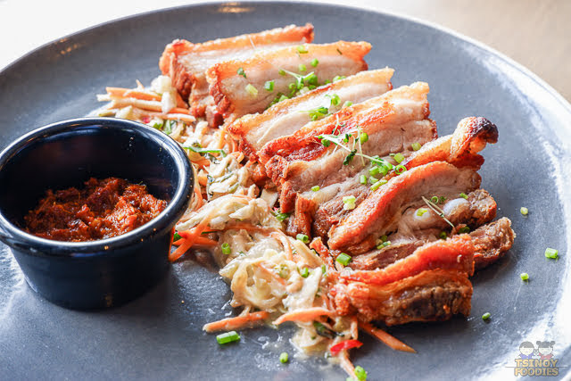 crispy pork sambal