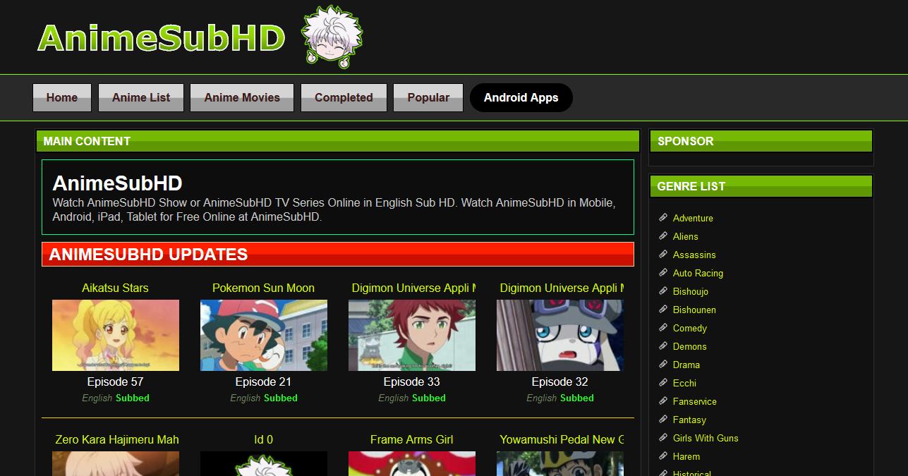 Anime sub hd screenshot