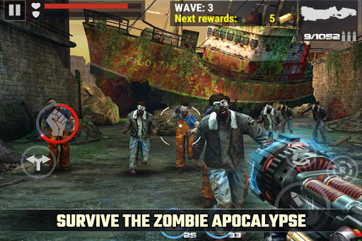 Dead Target Zombie Hack Full Tiền Vàng Cho Android