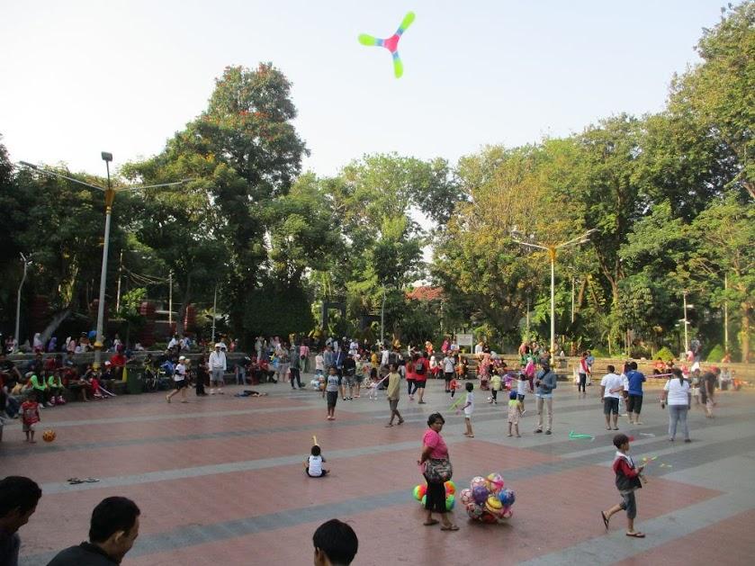 Taman Bungkul Surabaya Hari Ini