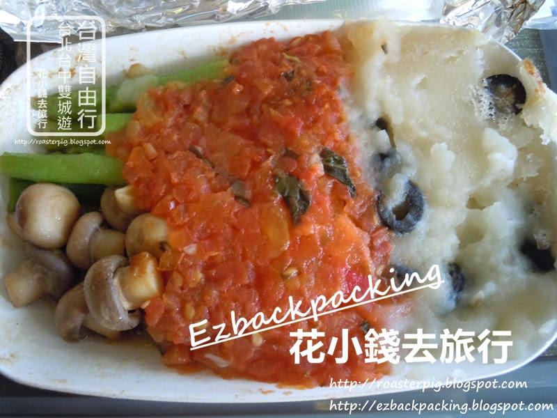 長榮航空-台北去香港糖尿病餐:午餐