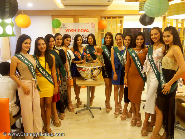 yoshinoya miss earth glorietta