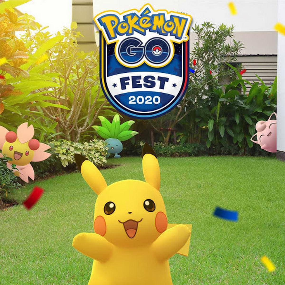 A Pokémon Go Fest deste ano, será no seu quintal