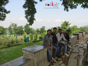 Group pic at Chashme shahi garden