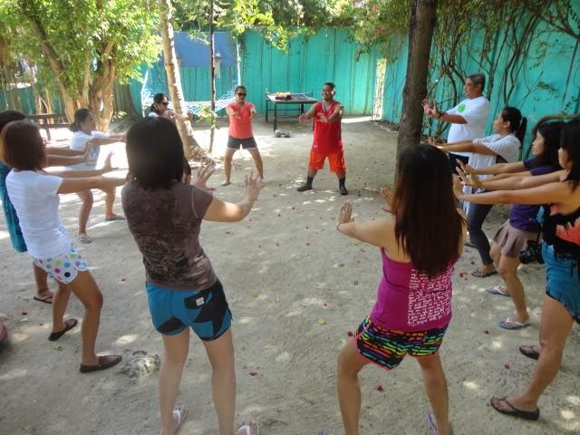 Trends and Technologies Inc 2013 team building in Cordova Cebu Philippines
